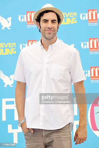 Sacha Baron Cohen attends 2013 Giffoni Film Festival photocall on July 28 2013 in Giffoni Valle Piana Italy