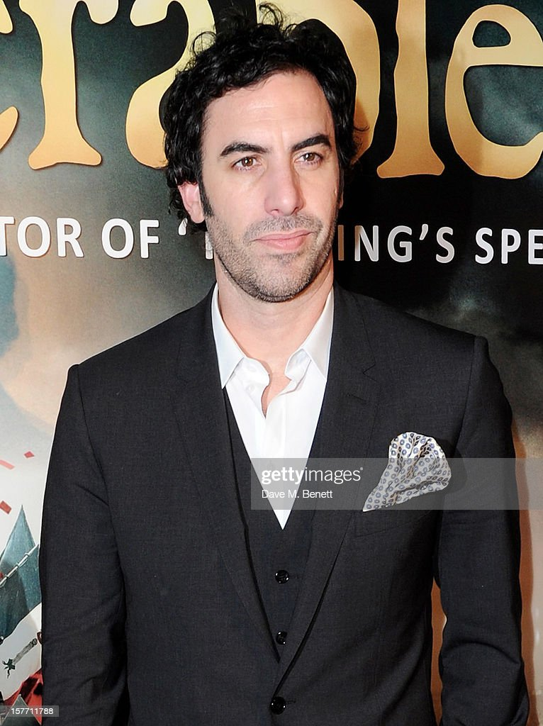 Sacha Baron Cohen attends an after party following the World Premiere of 'Les Miserables' at The Roundhouse on December 5, 2012 in London, England.