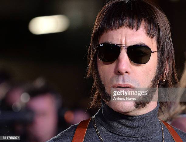 Sacha Baron Cohen attends the World premiere of 'Grimsby' at Odeon Leicester Square on February 22 2016 in London England