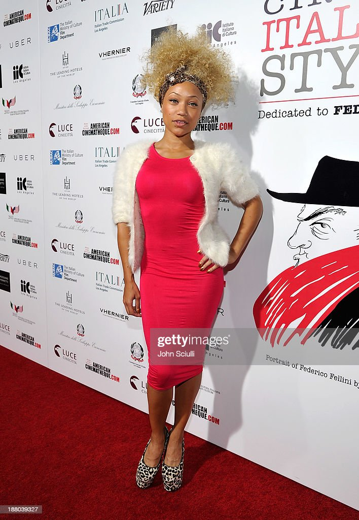 Sacha Chang attends Cinema Italian Style 2013 'The Great Beauty' opening night premiere at the Egyptian Theatre on November 14, 2013 in Hollywood, California.