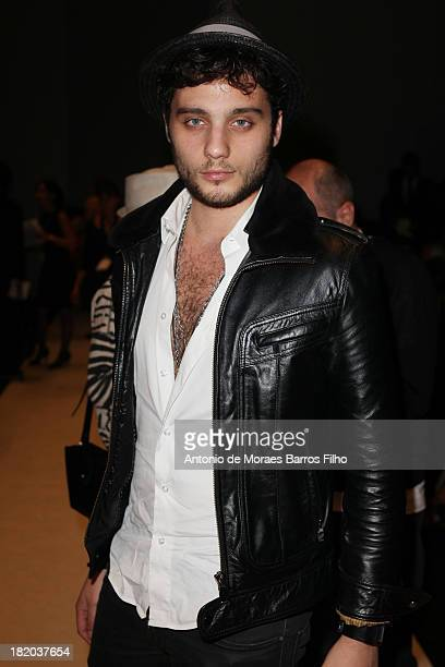 Sacha Di Bona attends the Vanessa Bruno show as part of the Paris Fashion Week Womenswear Spring/Summer 2014 at Grand Palais on September 27 2013 in...