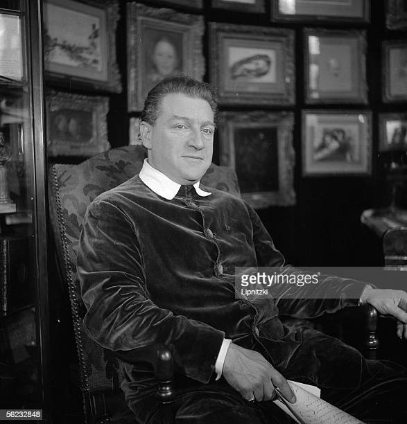 Sacha Guitry French writer actor and filmmaker Paris december 1938