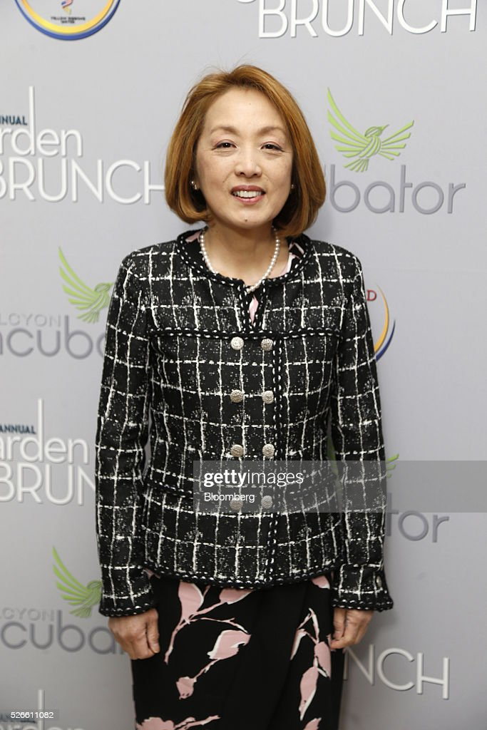 Sachiko Kuno, president and chief executive officer of S&R Foundation, attends the 23rd Annual White House Correspondents' Garden Brunch in Washington, D.C., U.S., on Saturday, April 30, 2016. The event will raise awareness for Halcyon Incubator, an organization that supports early stage social entrepreneurs 'seeking to change the world' through an immersive 18-month fellowship program. Photographer: Andrew Harrer/Bloomberg via Getty Images