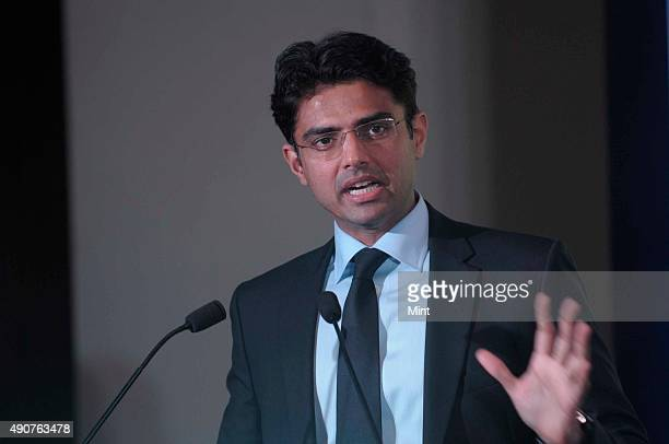 Sachin Pilot Minister for Corporate Affairs Government of India during his Keynote address at India's Best Managed Boards Awards 2012 on January 28...