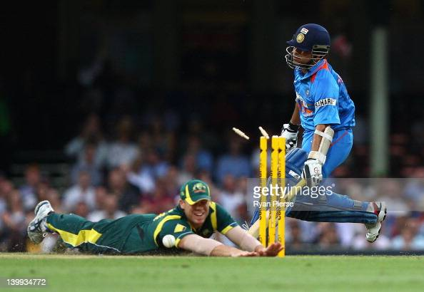 Tri-Series Game 10 Photos And Images