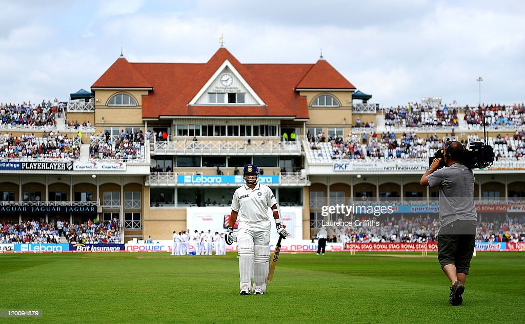 England v India: 2nd npower Test - Day Two