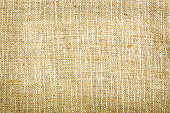 Natural sackcloth closeup texture background