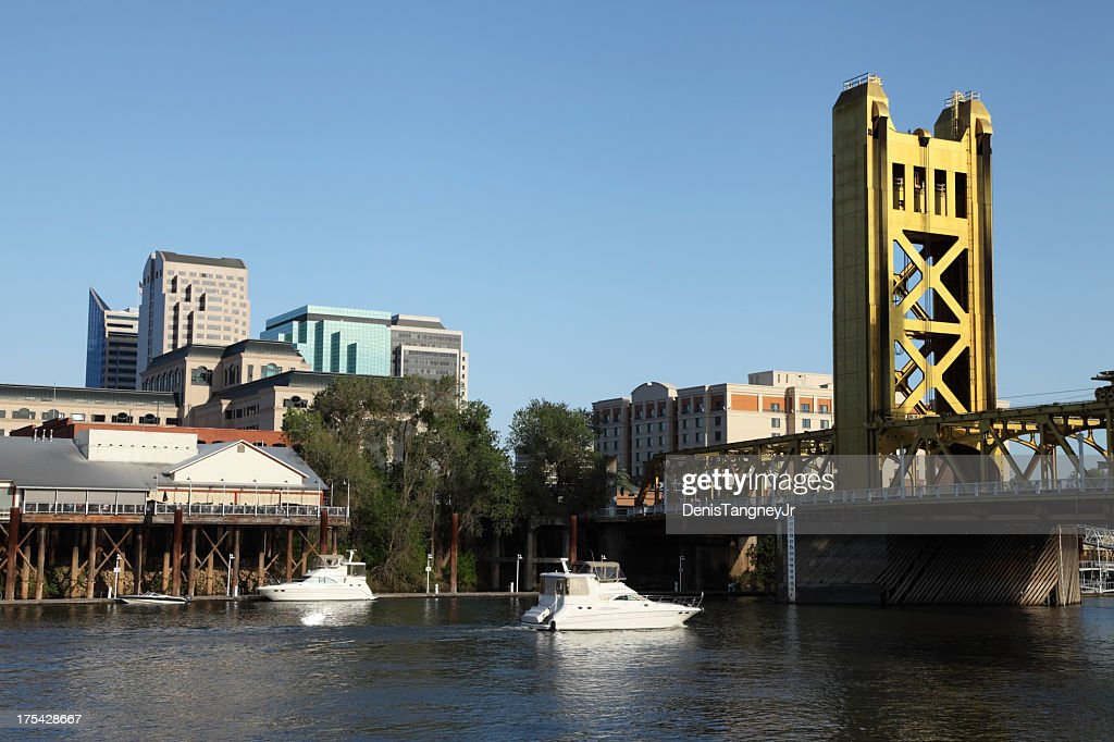 Sacramento Skyline and the Tower Bridge