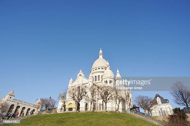 Sacré-Cœur à Montmartre, Paris en France