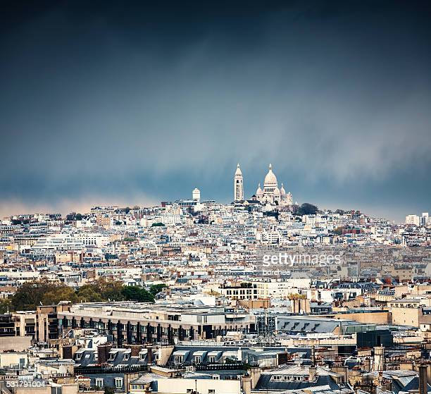 Sacré-cœur du quartier Montmartre