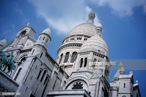 Sacre-Coeur Church, Paris, France, low angle view