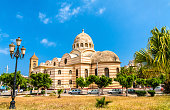 Sacred Heart Cathedral of Oran, currently a public library, in Oran - Algeria, North Africa