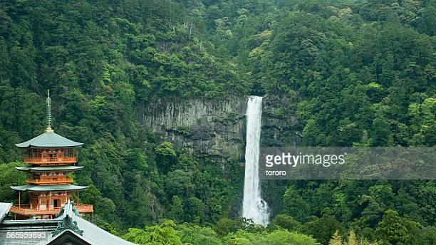 Sacred waterfall of Kumano Kodo pilgrimage, Japan