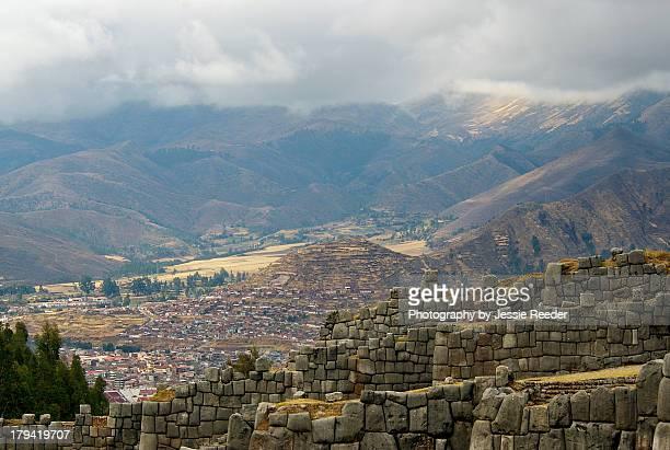 Sacsayhuaman Incan Ruins in Cusco Peru
