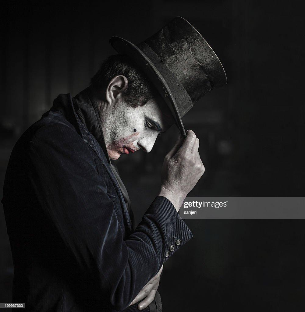 Sad actor : Stock Photo