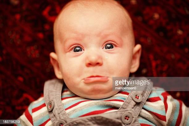 Triste bébé