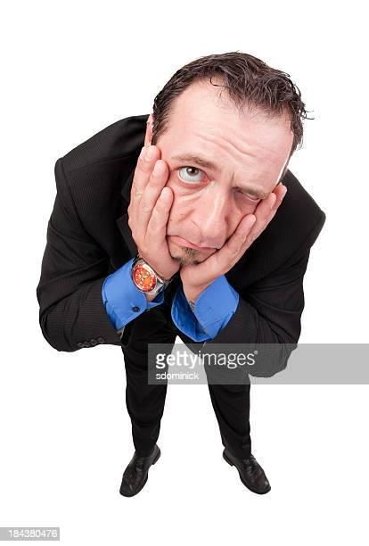 Triste Homme d'affaires