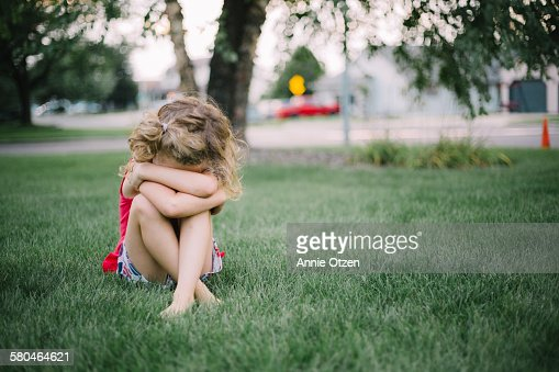 Sad girl : Stock Photo