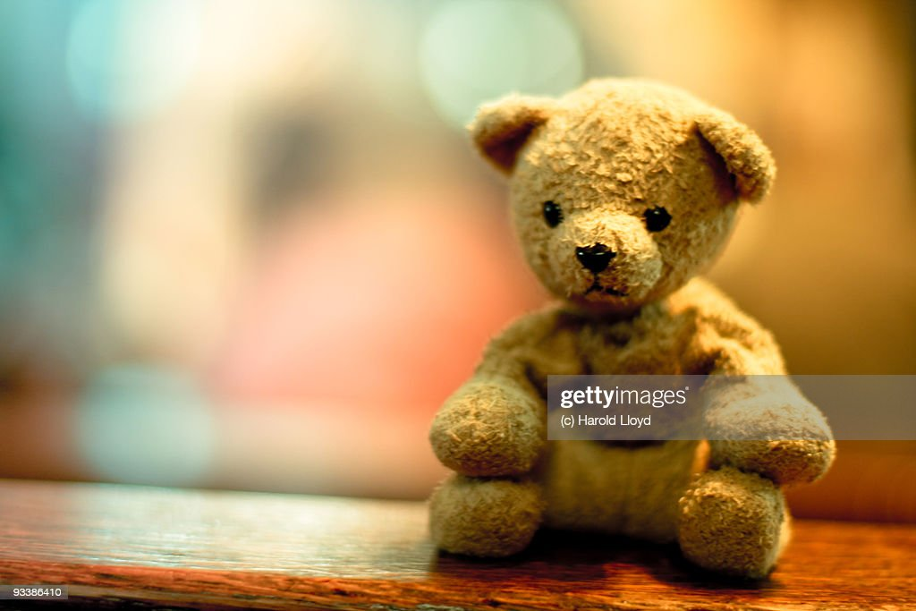 Sad little teddy bear