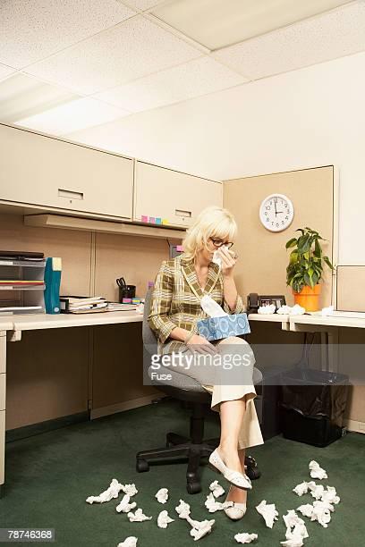 Sad Office Worker