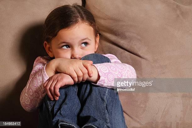 Triste enfant ou Peur