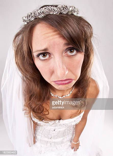 Sad Pouting Bride