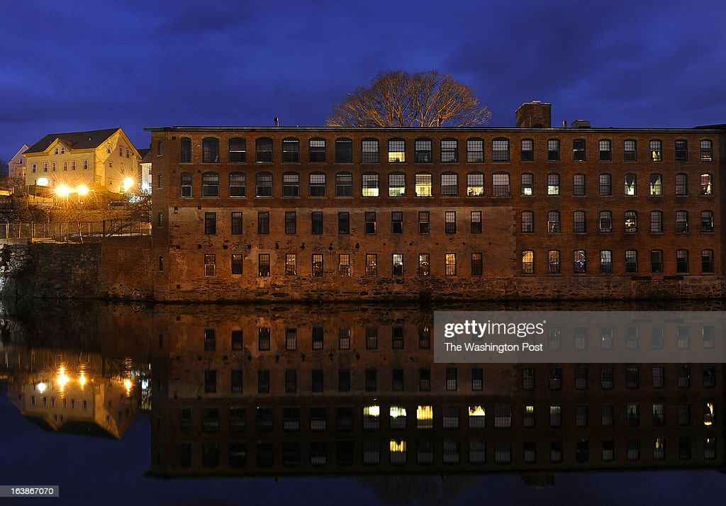 A sad twist of fate has created low-income housing in what once was the Glenark textile mill (built in 1865 and long closed) facility. Many families and individuals in Woonsocket, Rhode Island are needy and take part in the SNAP (food stamps) program. Photo by Michael S. Williamson/The Washington Post via Getty Images