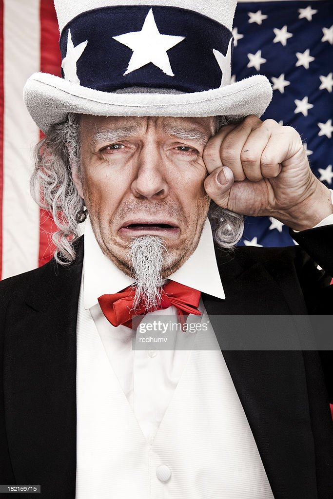 sad uncle sam stock photo getty images. Black Bedroom Furniture Sets. Home Design Ideas