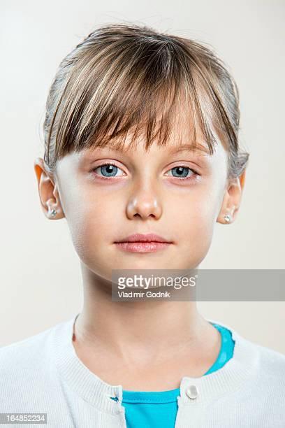 A sad young girl