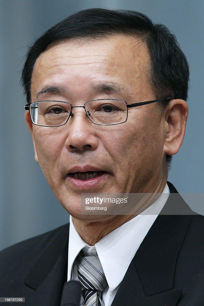 Japan's Prime Minister Shinzo Abe Names Cabinet Members