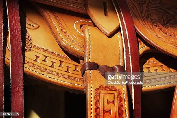 Saddle Leather Cowboy Riding Tack