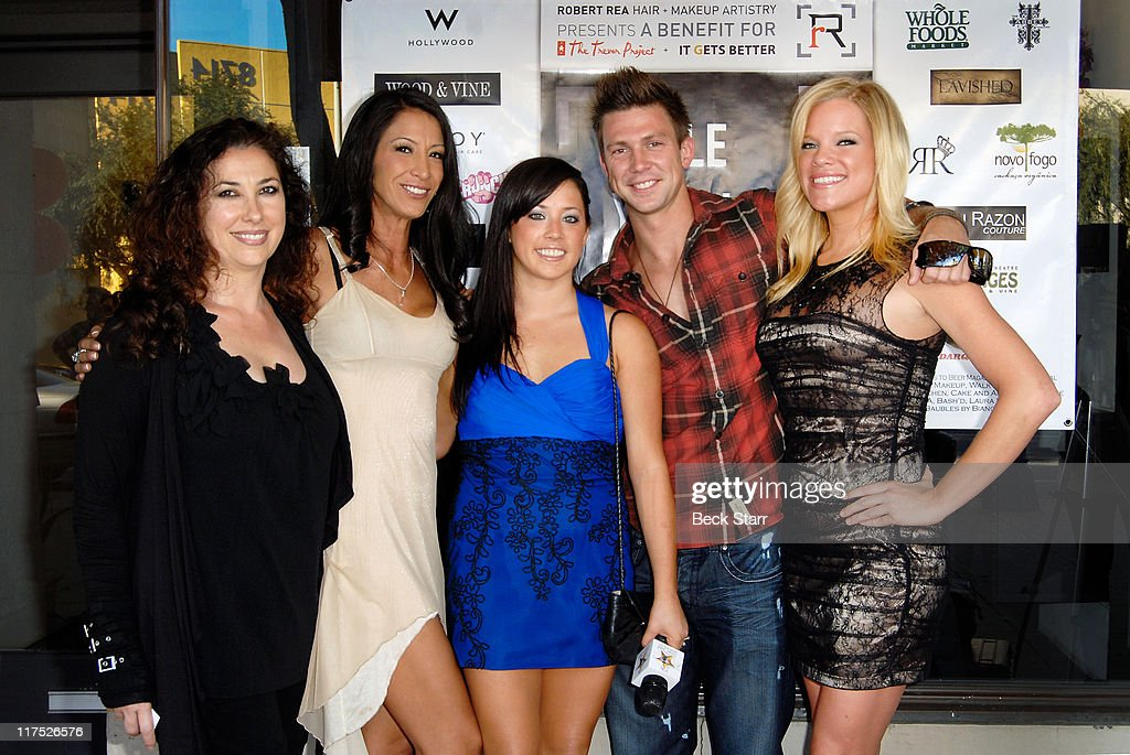 39 Saddle Ranch 39 Cast Arrive At The Trevor Project 39 S 39 Style
