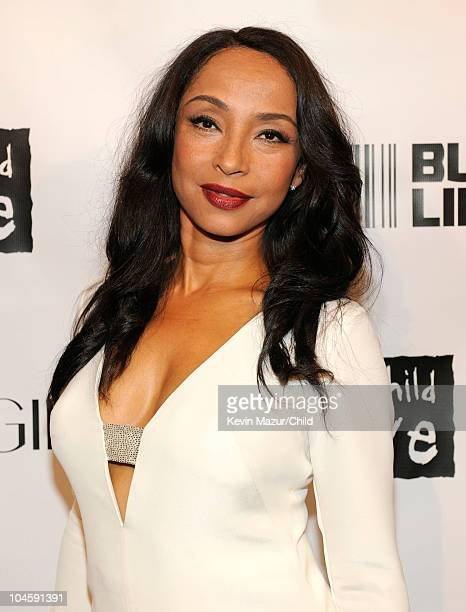 Sade attends at Keep A Child Alive's 7th annual Black Ball at Hammerstein Ballroom on September 30 2010 in New York City