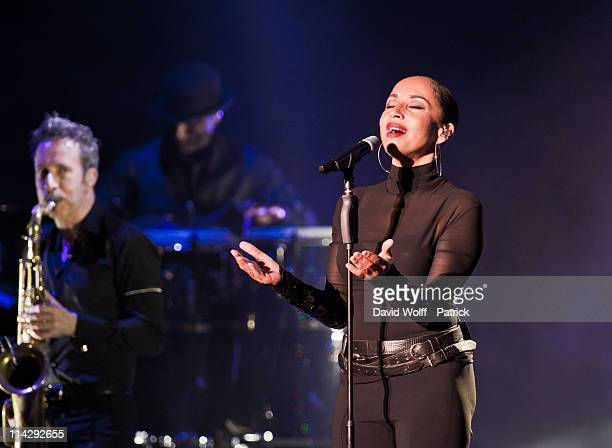 Sade performs at Palais Omnisports de Bercy on May 17 2011 in Paris France