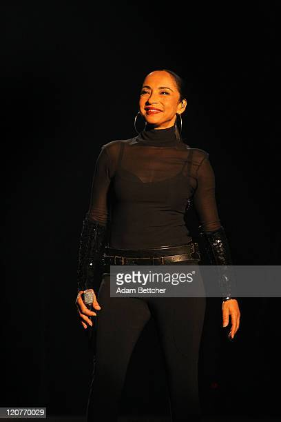 Sade performs at the Target Center on August 9 2011 in Minneapolis Minnesota