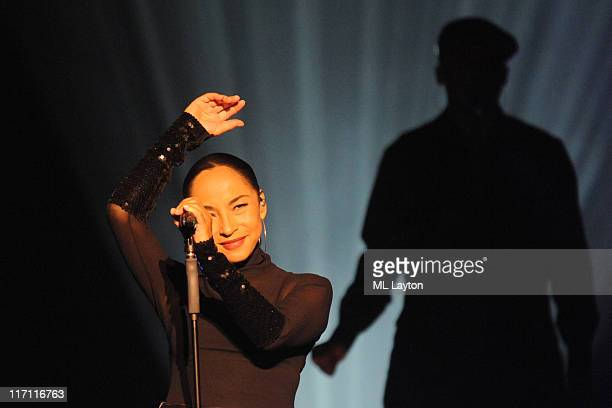 Sade performs at the Verizon Center on June 22 2011 in Washington DC