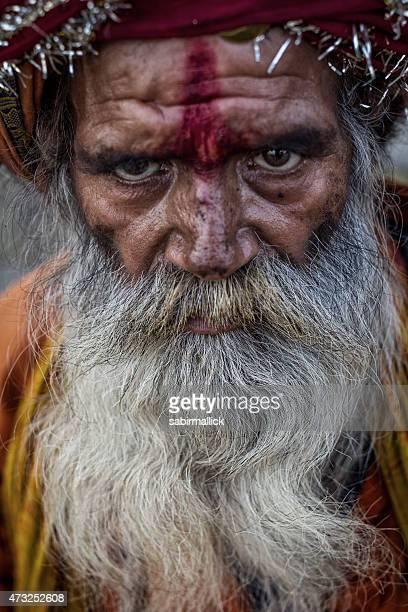 Sadhu, Holy man - Varanasi.