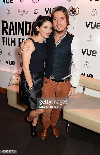 Sadie Frost and Darren Strowger attend the International Premiere of 'Buttercup Bill' at the Vue Piccadilly on September 30 2014 in London England