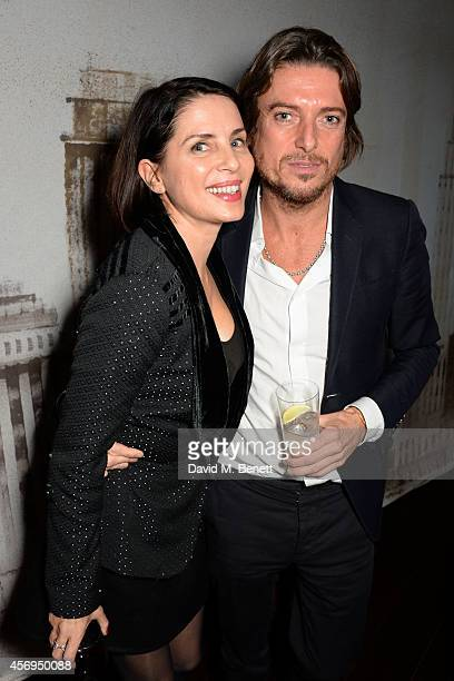 Sadie Frost and guest attend the launch party as Mondrian London opens its doors on London's South Bank at Mondrian Hotel on October 9 2014 in London...