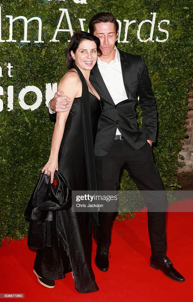 <a gi-track='captionPersonalityLinkClicked' href=/galleries/search?phrase=Sadie+Frost&family=editorial&specificpeople=201927 ng-click='$event.stopPropagation()'>Sadie Frost</a> (L) and guest attend the London Evening Standard British Film Awards at Television Centre on February 7, 2016 in London, England.