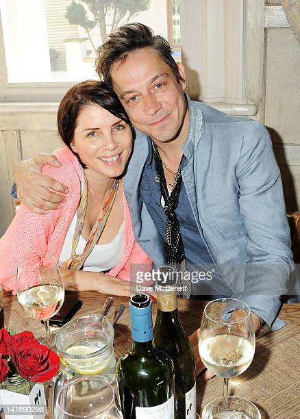 Sadie Frost and Jamie Hince attend the launch of the Sunday Recovery Sessions brunch at Paradise by Way of Kensal Green on March 25 2012 in London...