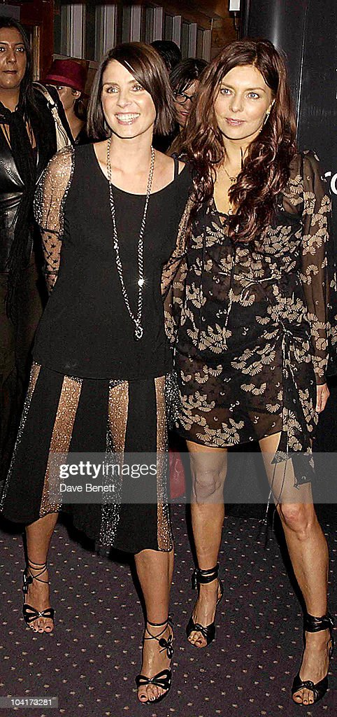Sadie Frost And Jemima French, Frost French Fashion Tea Party At Bafta Cinema In Picadilly,turned The Normal Fashion Show On Its Head As The Audience Was Treated To A Film Of The Designers New Collection, London Fashion Week 2003