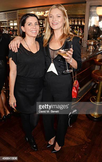 Sadie Frost and Kate Moss attend the launch of The 34 Kate Moss Coupe at 34 Grosvenor Square on October 8 2014 in London England