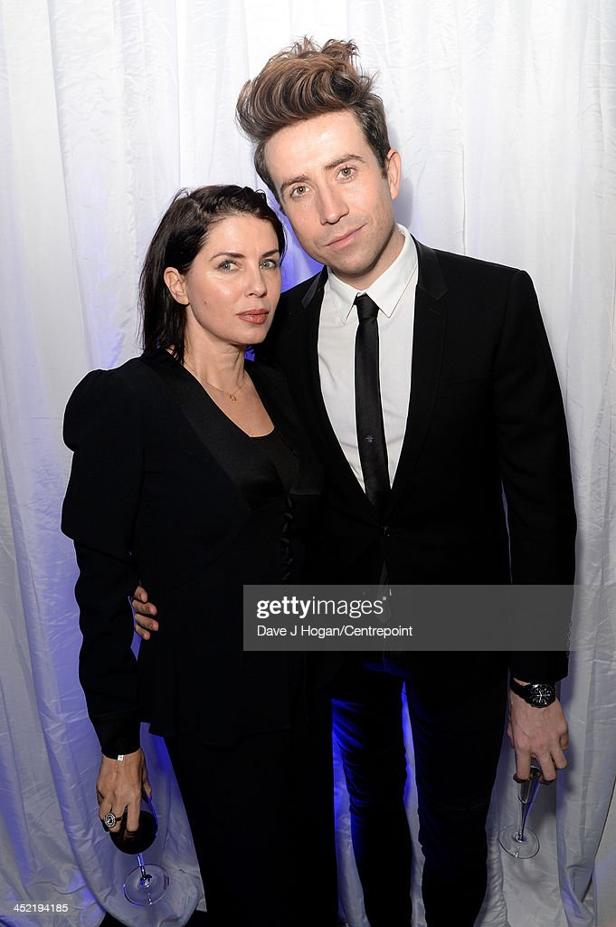 Sadie Frost and <a gi-track='captionPersonalityLinkClicked' href=/galleries/search?phrase=Nick+Grimshaw&family=editorial&specificpeople=4666727 ng-click='$event.stopPropagation()'>Nick Grimshaw</a> attend the Winter Whites Gala In Aid Of Centrepoint on November 26, 2013 in London, England.