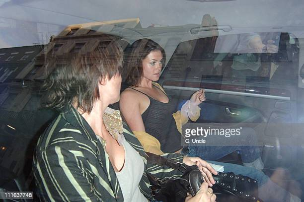 Sadie Frost and sister Holly Davidson during Doctor Joshi's 'Holistic Detox' Book Launch at Arts Club in London Great Britain