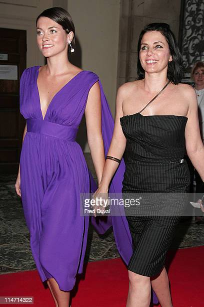 Sadie Frost and sister Holly Davidson during Raisa Gorbachev Foundation Party Red Carpet at Hampton Court Palace in London United Kingdom