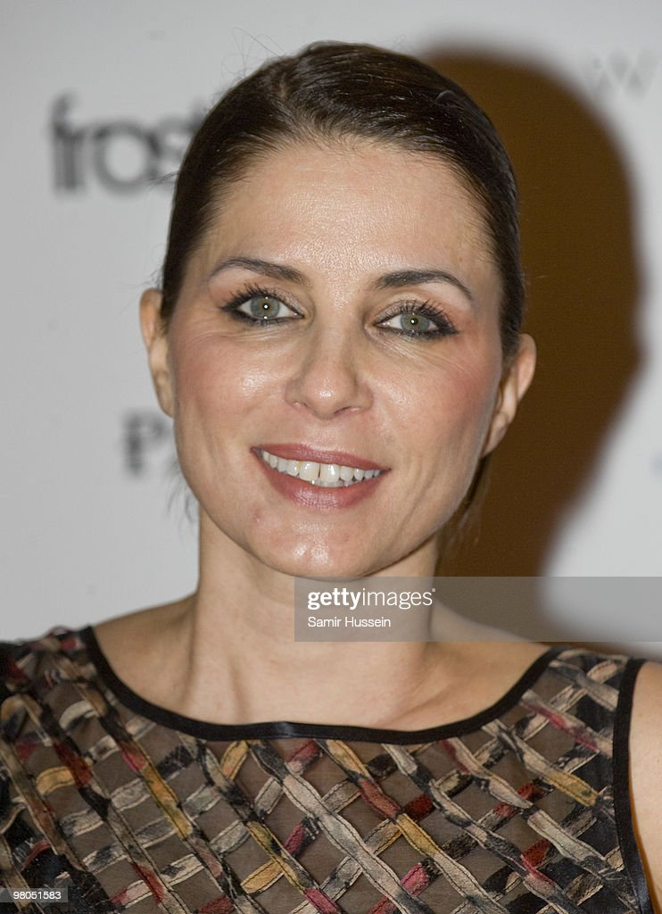 Sadie Frost arrives at the PopUp Store launch party at Whiteleys on March 25 2010 in London England