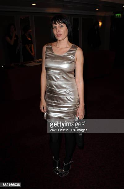 Sadie Frost arrives for the Laurence Olivier Awards at the Grosvenor Hotel in central London