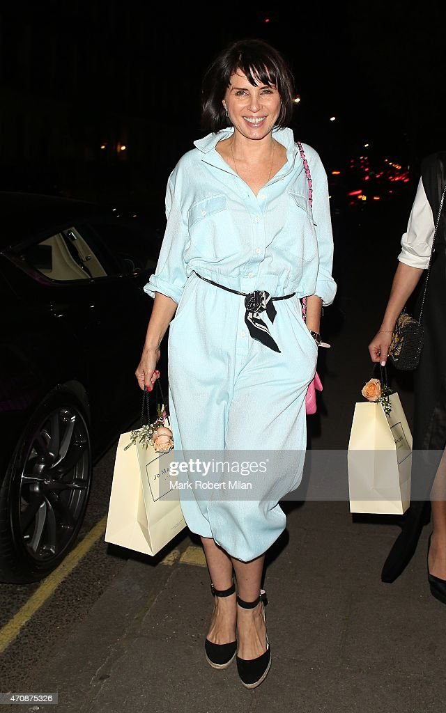 Sadie Frost attending a Jo Malone party at the Jo Malone HQ on April 23 2015 in London England