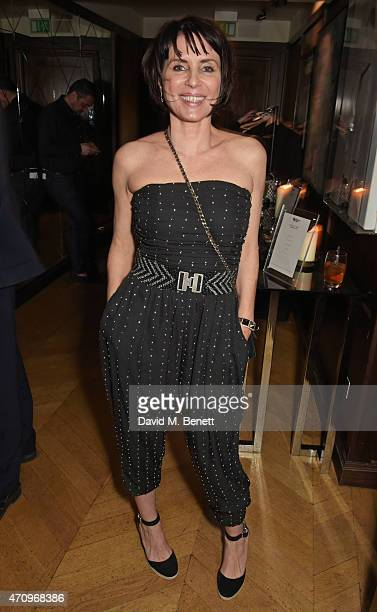 Sadie Frost attends as Collette Cooper previews songs from her upcoming album 'City Of Sin' at The Groucho Club on April 24 2015 in London England